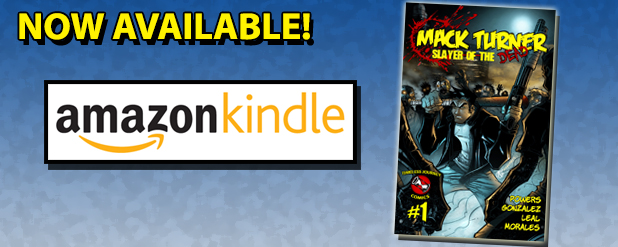 TJ Comics on Amazon Kindle!