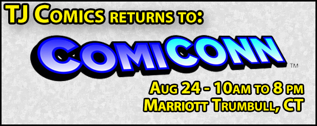 TJ Comics returns to ComiCONN!