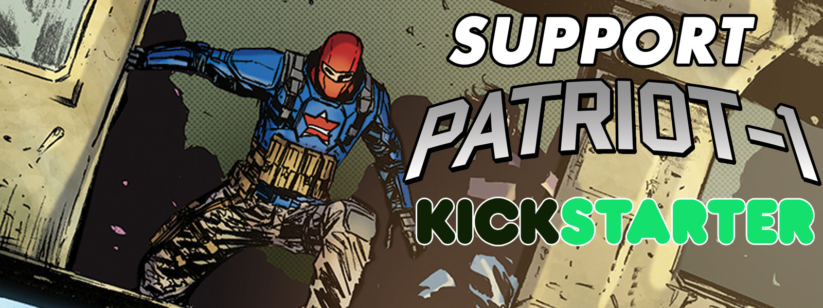 Support Patriot-1 on Kickstarter!