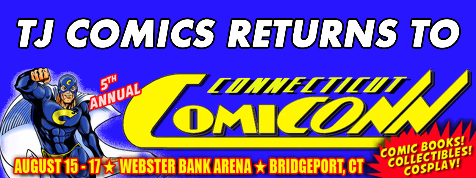 TJ Comics returns to ComiCONN 2014
