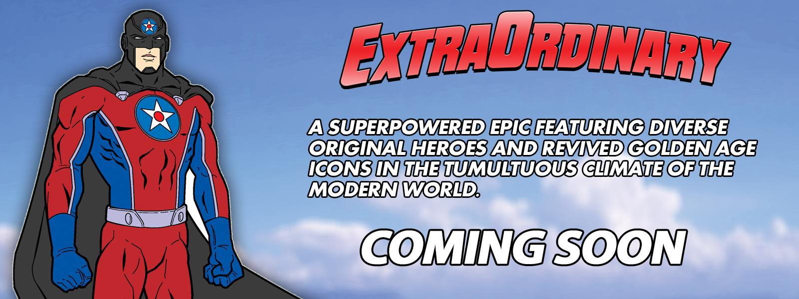 TJ Comics Announces New Ground-Breaking Superhero Line 'ExtraOrdinary'