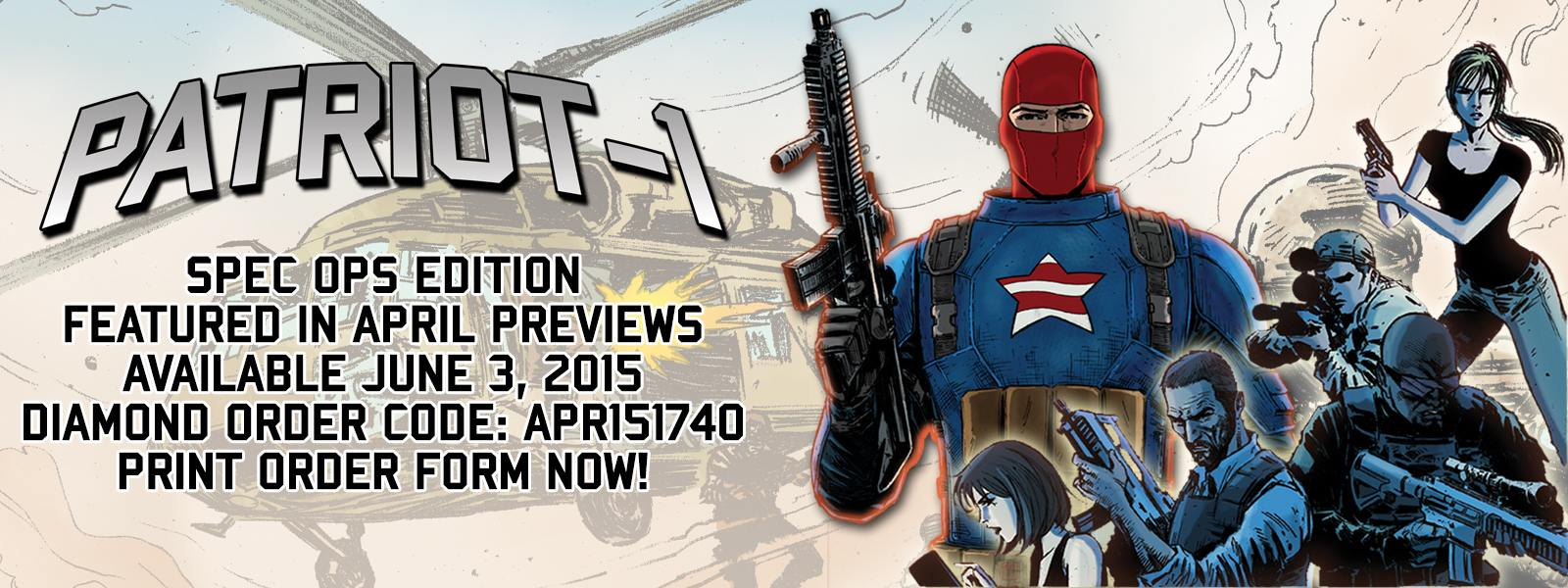 Patriot-1 Available June 3, 2015