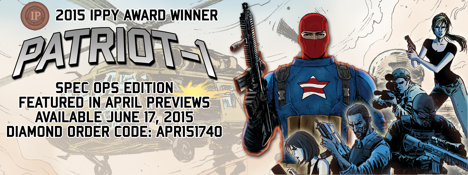 Patriot-1 Available June 17, 2015