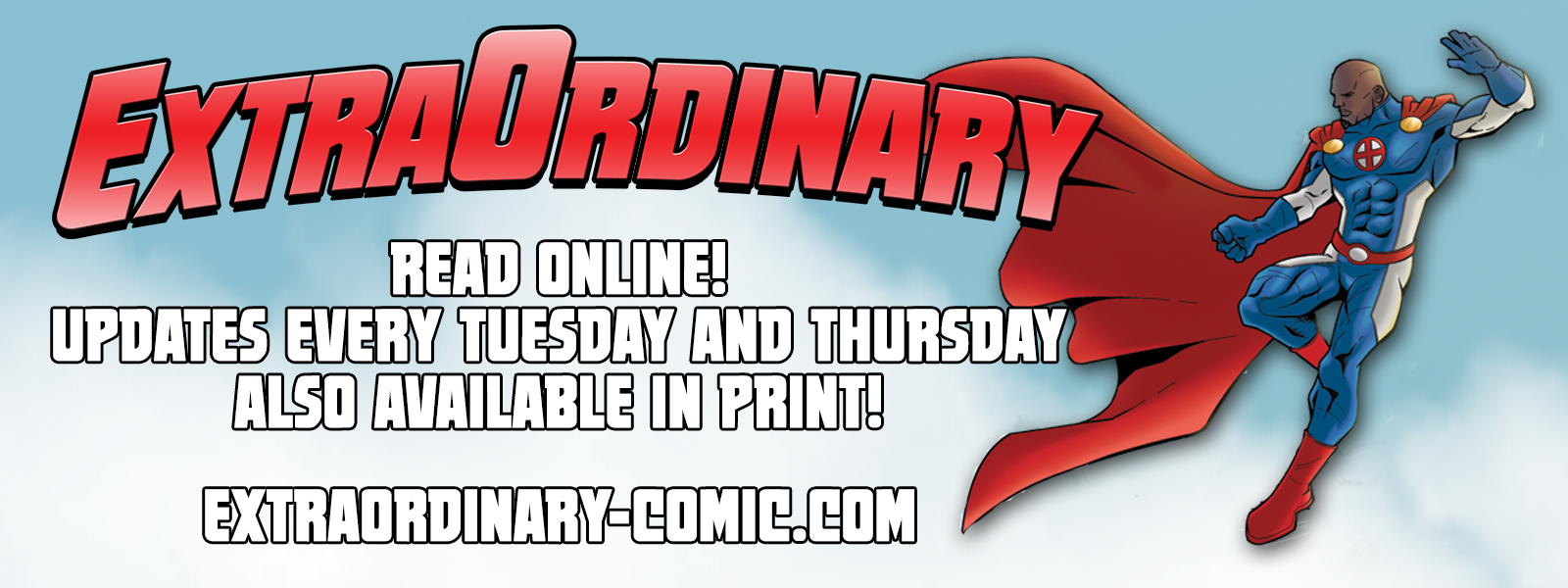 ExtraOrdinary has arrived!